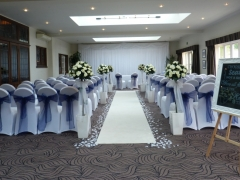 Prested hall ceremony room